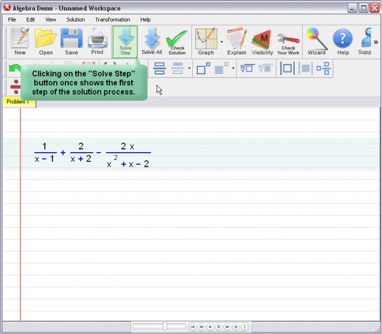 picture 1 for demo on Adding And Subtracting Fractions