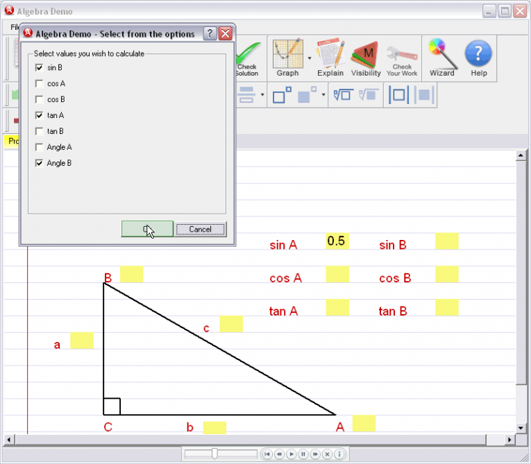 picture 2 for demo on Basic Trigonometry