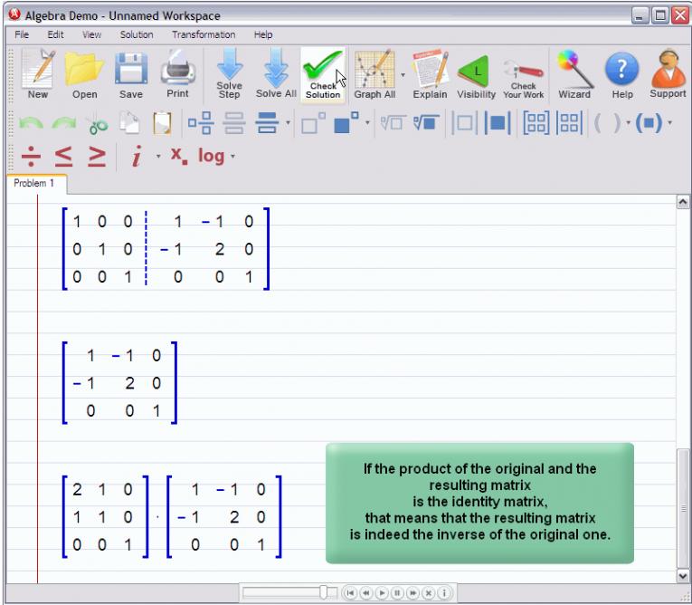 picture 5 for demo on Matrix Inverse