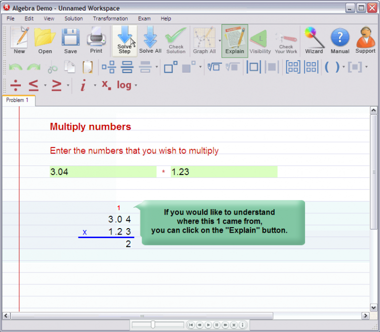 picture 2 for demo on Multiplying decimal numbers