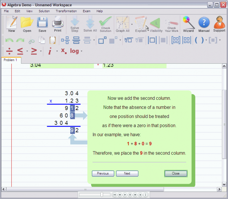 picture 5 for demo on Multiplying decimal numbers