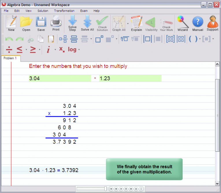 picture 7 for demo on Multiplying decimal numbers