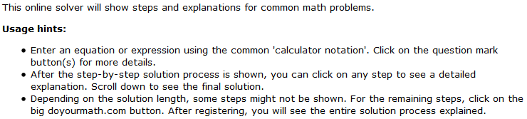 College algebra online calculator solving