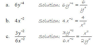 algebra expression positive negative and zero The zero and negative exponent properties are two  tecep college algebra: study guide  the negative exponent has nothing to do with positive or negative .