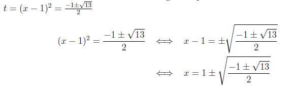 Quadratic Equations Worksheet