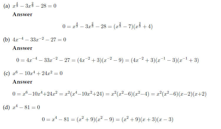 equations worksheet – Quadratic Equations Worksheet with Answers