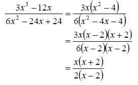 Homework help factoring rational expressions