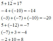 Go Back > Pix For > Integer Examples And Answers
