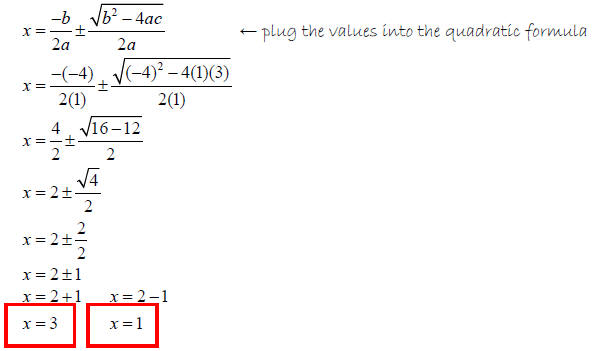 Example Of Quadratic Equation In Standard Form Dolapgnetband