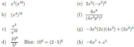 simplest form exponents  Exponents,13