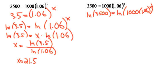how to get rid of logs in an equation