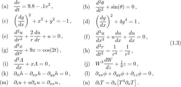Example 1 find order and degree of differential equations.