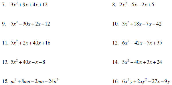 ... Multiples also mon Factors Worksheets. on gcf worksheets with example